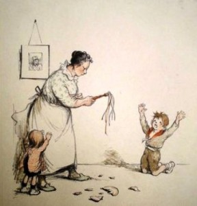 Discipline familiale - par Jean-Paul Poulbot-5coul-288x300