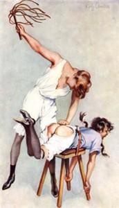 Contagieuse, la fessée pour Marie… Leçon de compassion  Unk-398-172x300