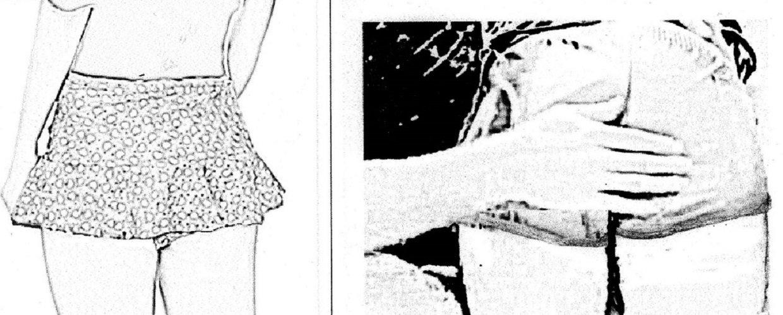 Culotte courte en nylon