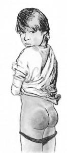 UnknW spanking